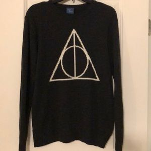 Harry Potter Deathly Hallows Sweater